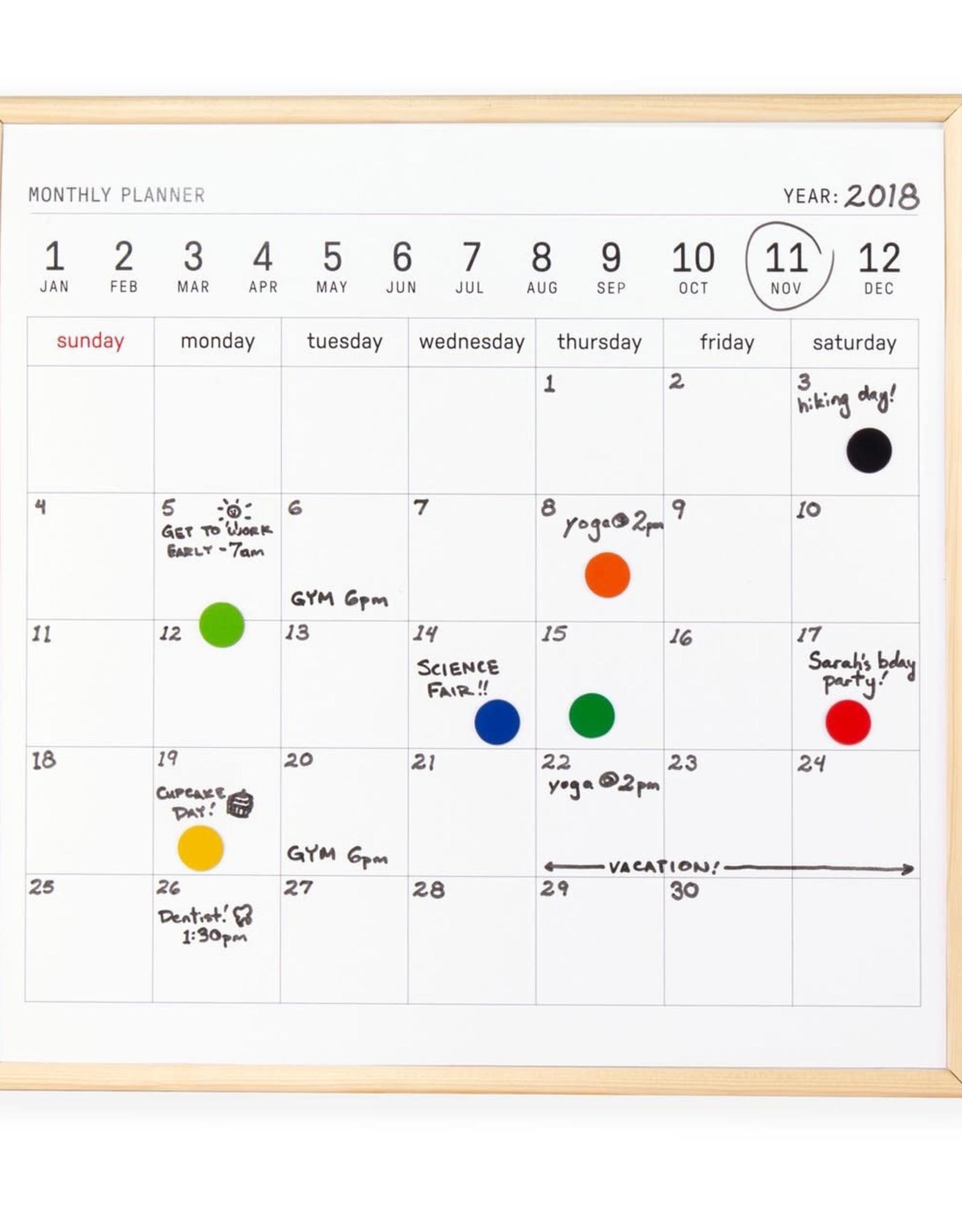 Kikkerland Mini white board Calendar