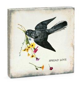 Cedar Mountain Small Art Block Spread Love