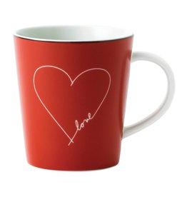 Royal Doulton ED Mug Red with White Heart