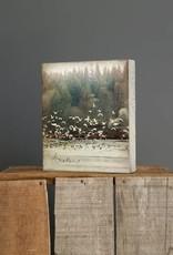 Cedar Mountain Small Art Block Awaken