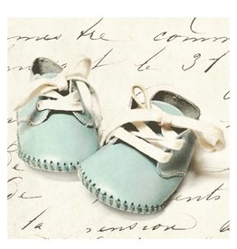 Cedar Mountain Small Art Block Baby Shoes Blue