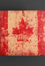 Cedar Mountain Small Art Block Canada Flag