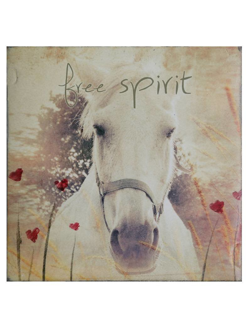 Cedar Mountain Small Art Block Free Spirit