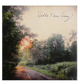 Cedar Mountain Small Art Block Hello New Day