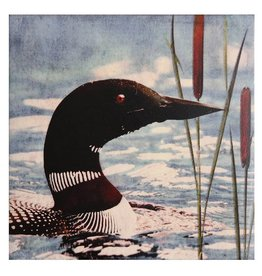 Cedar Mountain Small Art Block Loon