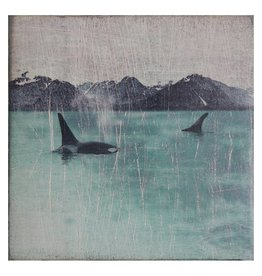 Cedar Mountain Small Art Block Orcas