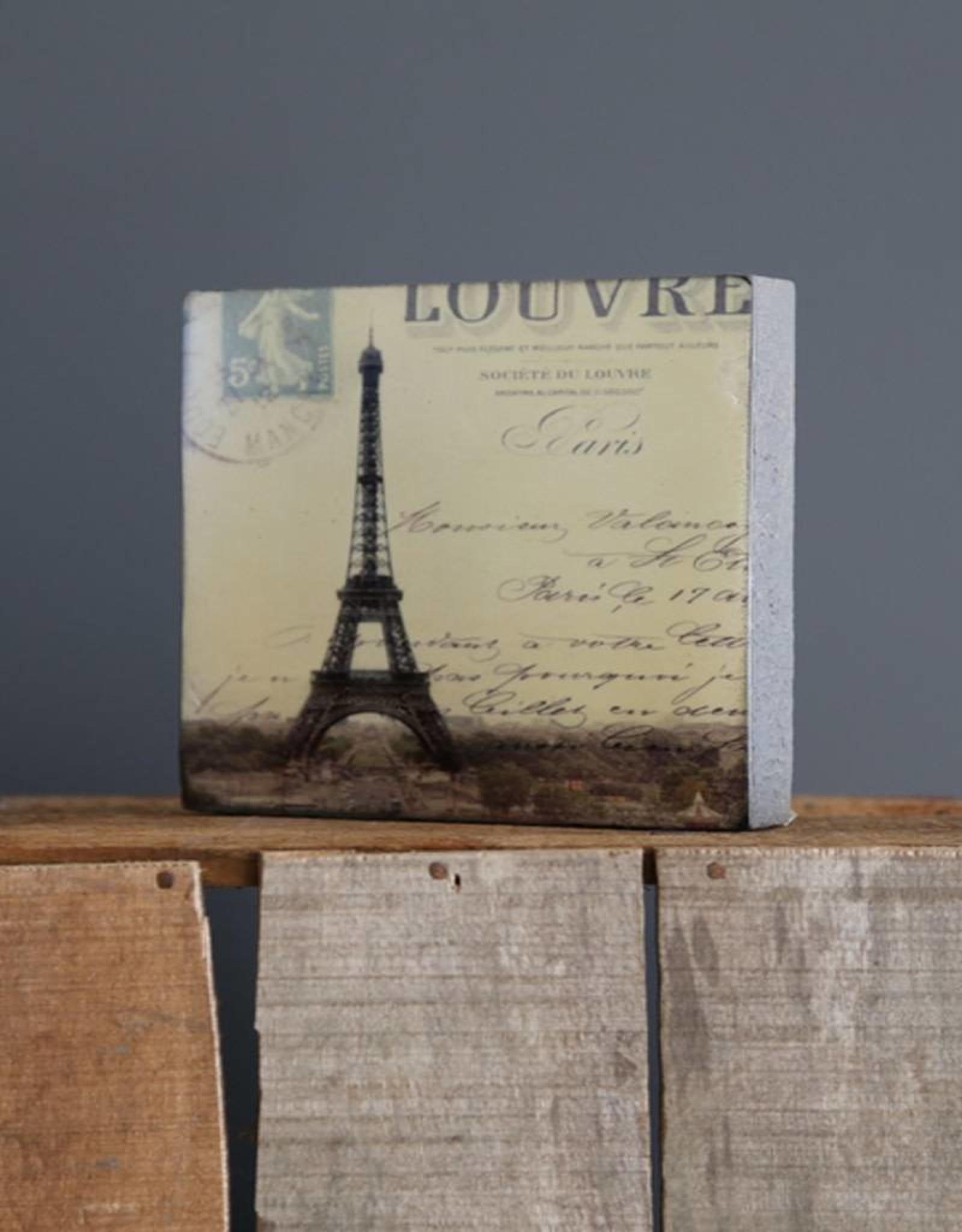 Cedar Mountain Small Art Block Paris - Louvre