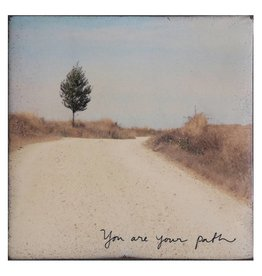 Cedar Mountain Small Art Block You Are Your Path