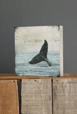 Cedar Mountain Small Art Block Whale Tail