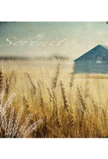 Cedar Mountain Small Art Block Wheat Field Serenity