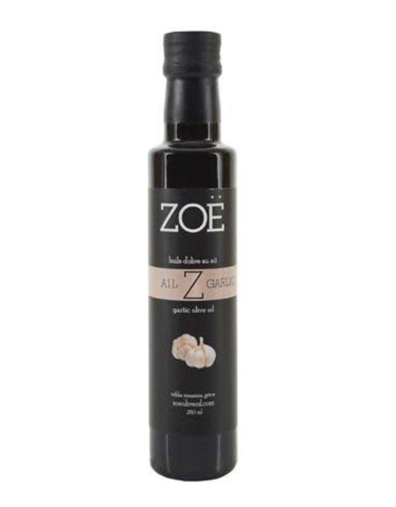 Zoe Infused Extra Virgin Olive Oil 250ml Garlic