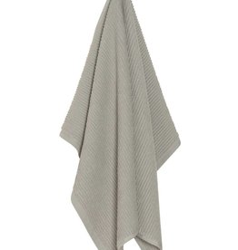 Now Designs Ripple Dishtowel London Gray