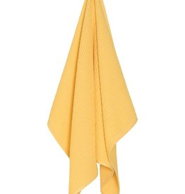 Now Designs Ripple Dishtowel Lemon