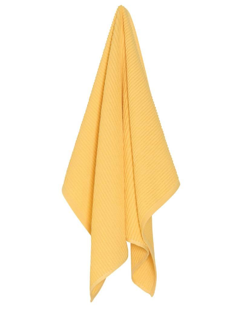 Now Designs 197535 Ripple Dishtowel Lemon