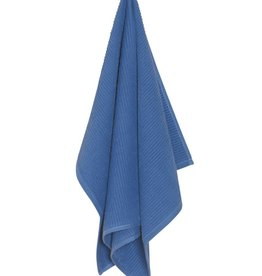 Now Designs Ripple Dishtowel Royal Blue