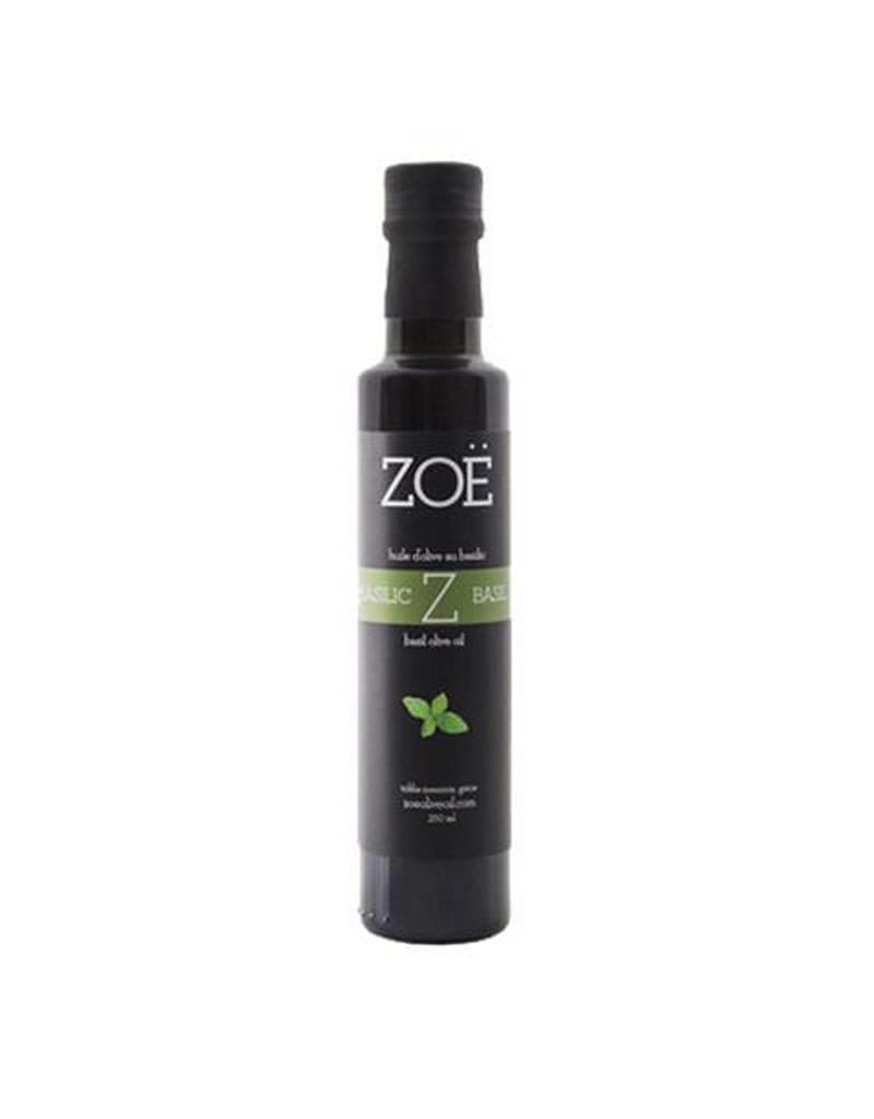 Zoe Infused Extra Virgin Olive Oil 250ml Basil