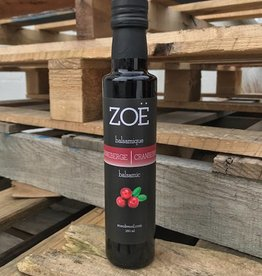 Zoe Balsamic Vinegar 250 ml Cranberry