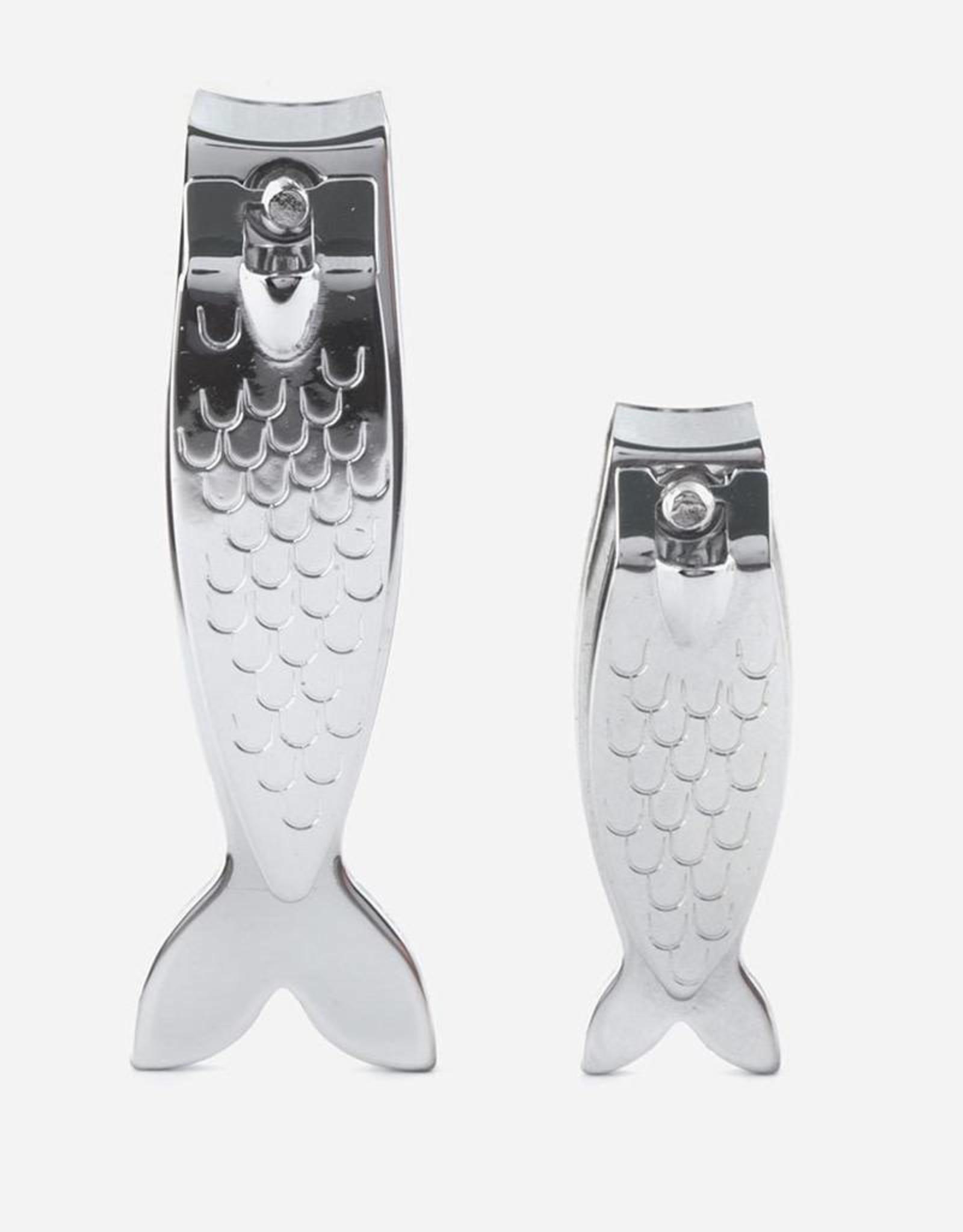 Kikkerland MN65 Fish Nail Clippers Set Of 2