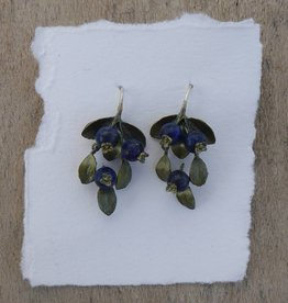 Michael Michaud Design Blueberry Wire Drop Earrings