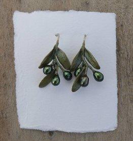 Michael Michaud Design MMD 4781BZOP Olive Wire Earrings