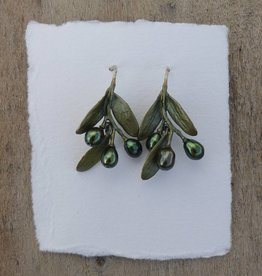 Michael Michaud Design Olive Wire Earrings