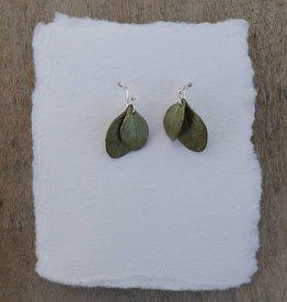 Michael Michaud Design Irish Thorn Double Leaf Earrings