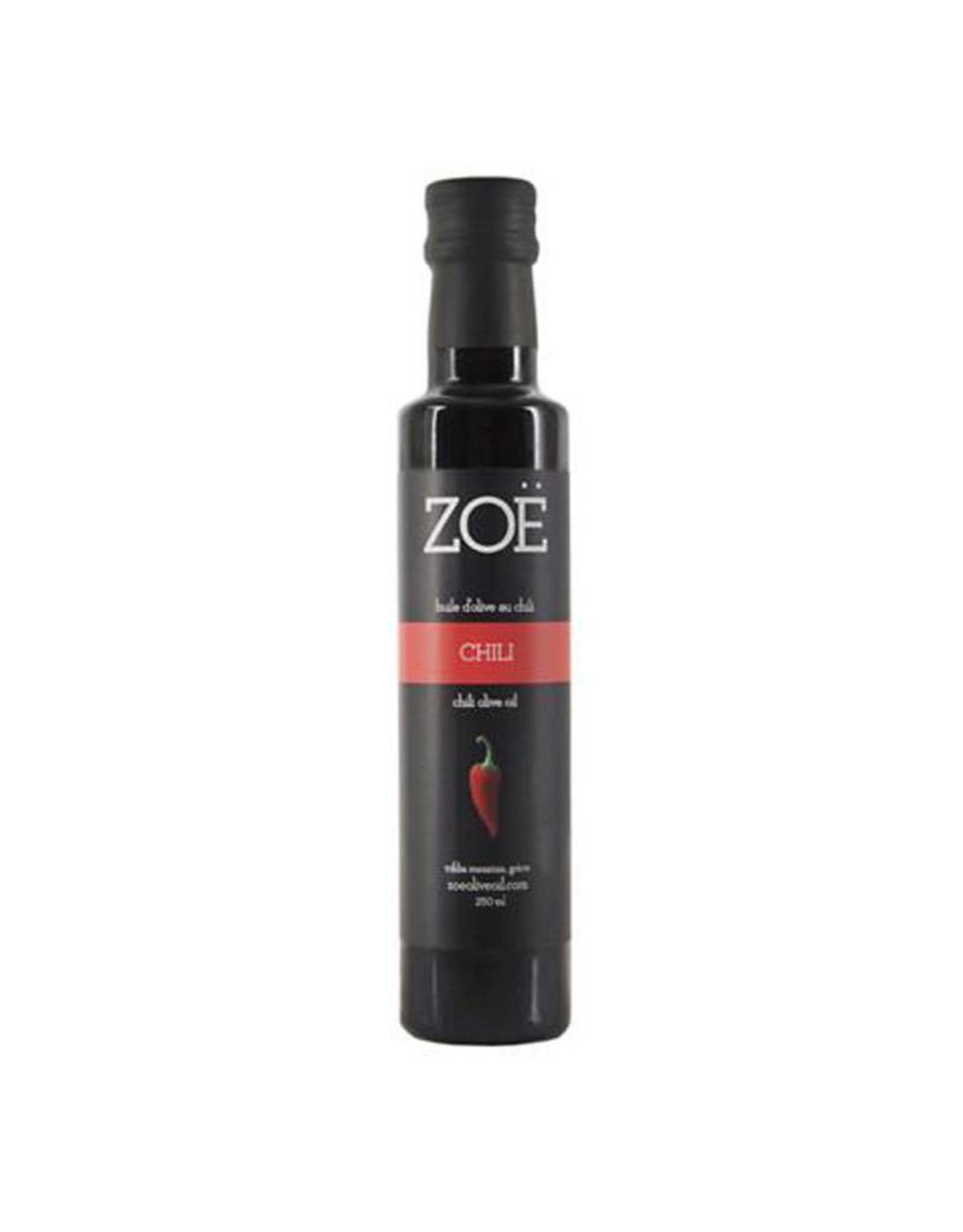 Zoe Infused Extra Virgin Olive Oil 250ml Chili