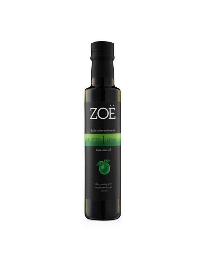 Zoe Infused Extra Virgin Olive Oil 250ml  Lime