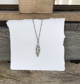 Refurbished Silver Necklace Pendant