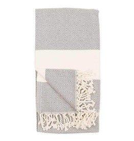 Turkish Towel Diamond Slate