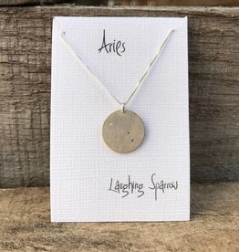 Laughing Sparrow L Sparrow Constellation Pendant Aries