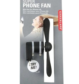 Kikkerland Iphone Super Fan Assorted Colours