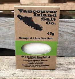 Vancouver Island Salt Co. Orange & Lime Sea Salt (45g)