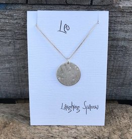 Laughing Sparrow Constellation Pendant Leo