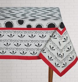 Tablecloth Bindu Black 60x90