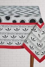 Tablecloth Bindu Black 60x90