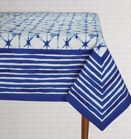 Tablecloth Shibori Indigo 60x120 Reg:54.95 SALE
