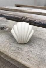SS-1356 Ceramic Cream Shell Knob