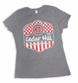 Gray Frost Cedar Hill Longhorns Tee