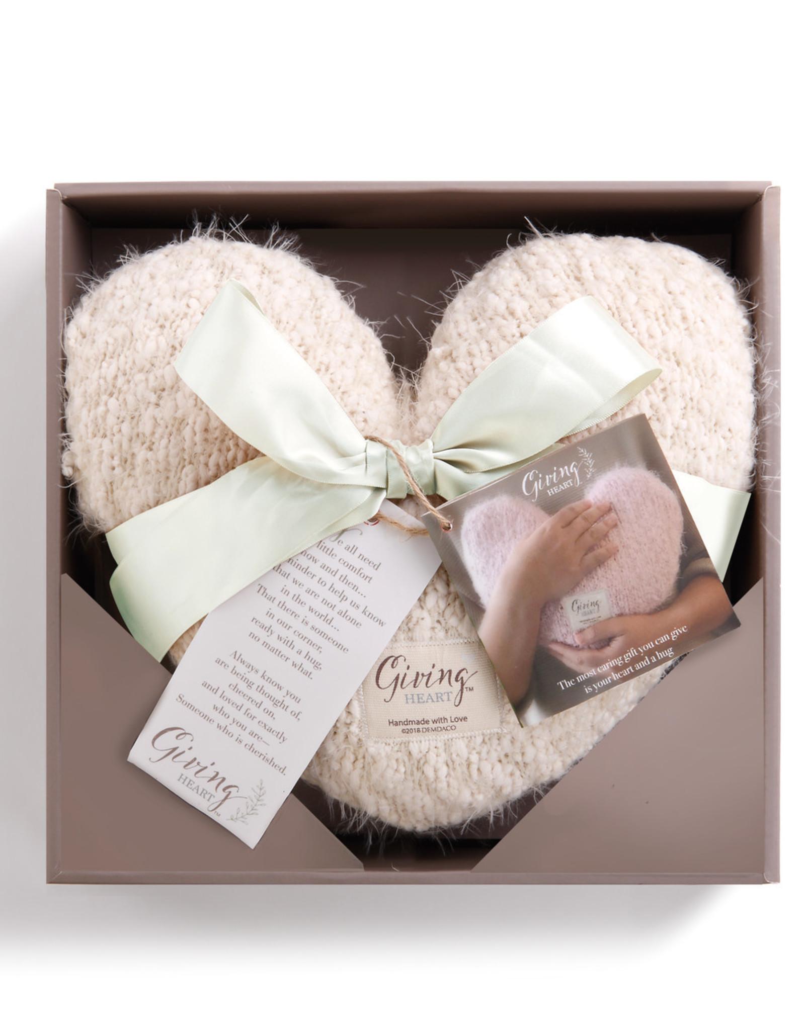 Demdaco Giving Heart Pillow