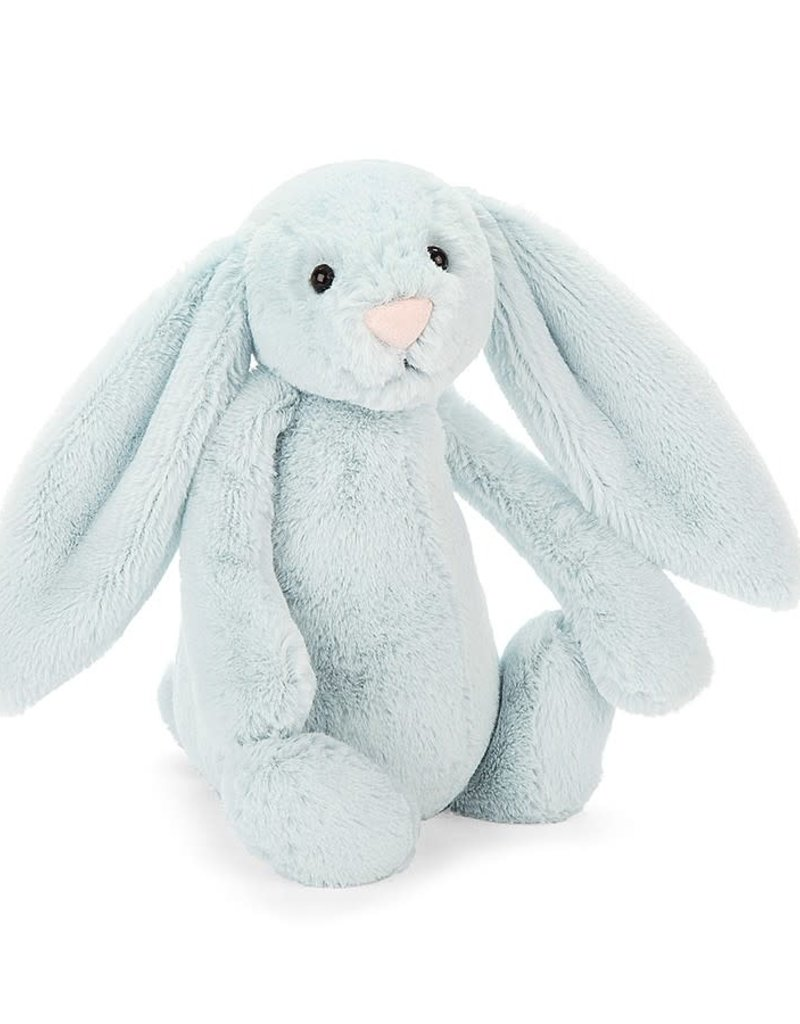 Jellycat Bashful Beau Lt Blue Bunny - HUGE