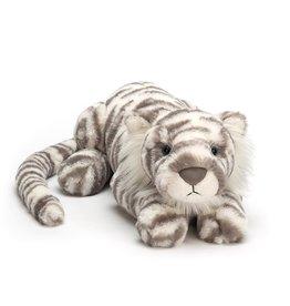 Jellycat Sacha Snow Tiger - LITTLE