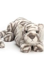 Jellycat Sacha Snow Tiger - LARGE