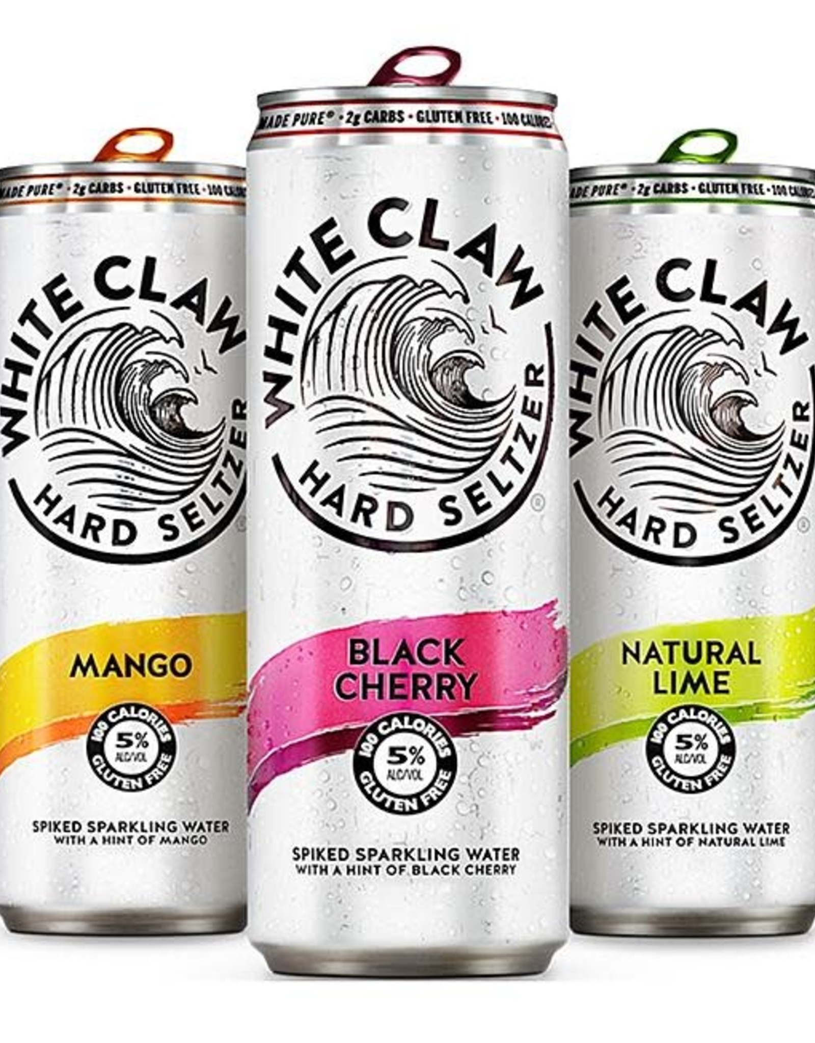 White Claw Hard Seltzer Candle - Assorted