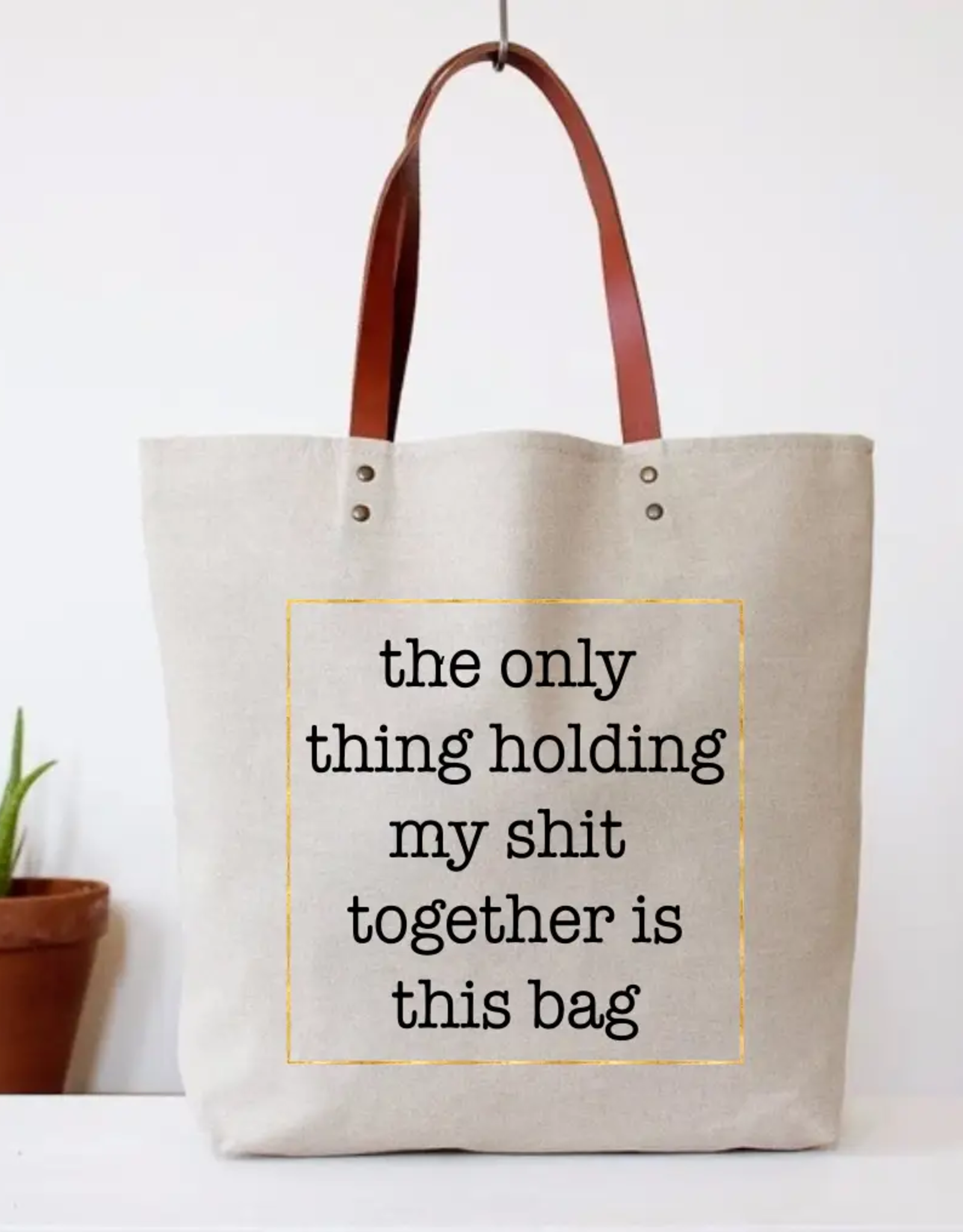 Snarky Delux Canvas Tote Bag