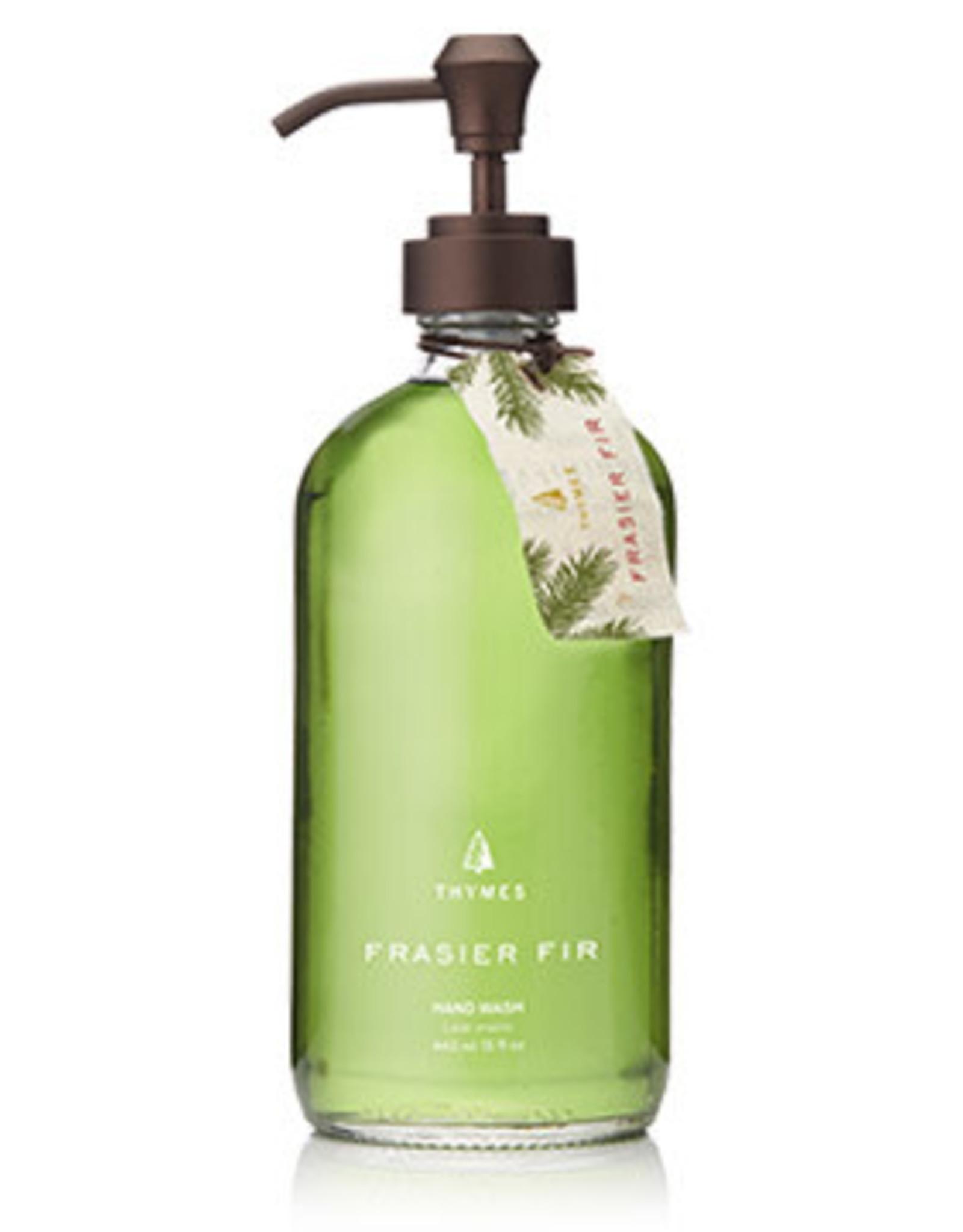 Thymes Frasier Fir Hand Wash - 15 oz. Glass Bottle