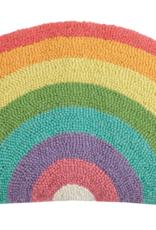 Rainbow Rug Hook Pillow
