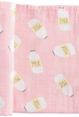 Mud Pie Muslin Swaddle Blanket