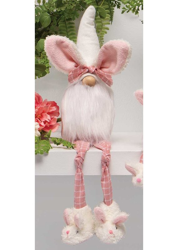 Gnome Bunny with Plaid Legs
