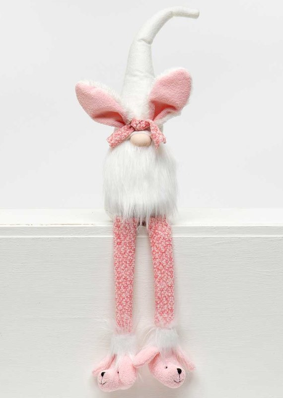 Gnome Bunny with Pink Legs